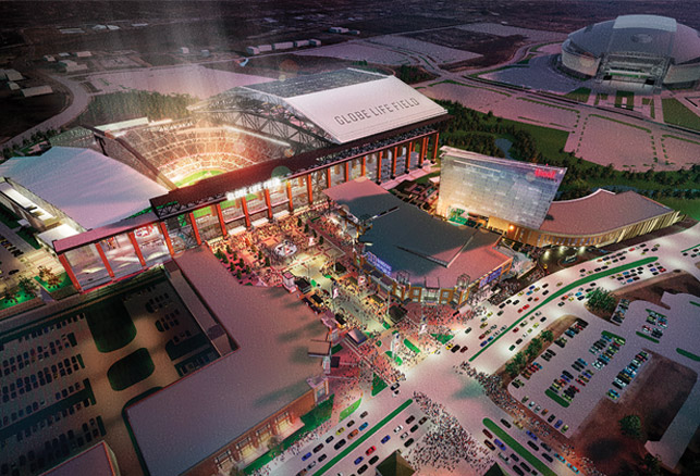 New Projects: Globe Life Field | Frank Erwin Center and More