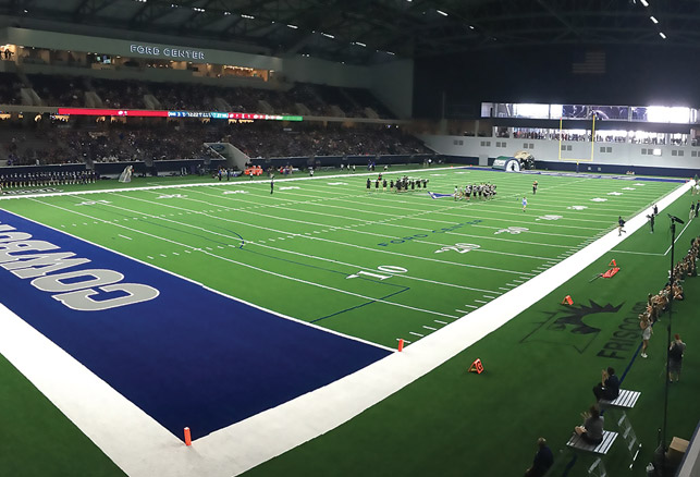 How the Dallas Cowboys, Frisco ISD Share a Stadium