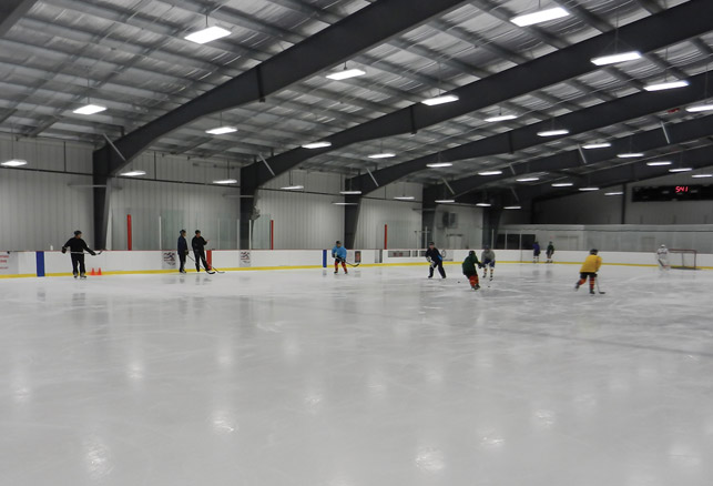 Sustainable Design and Operations for Ice Rinks