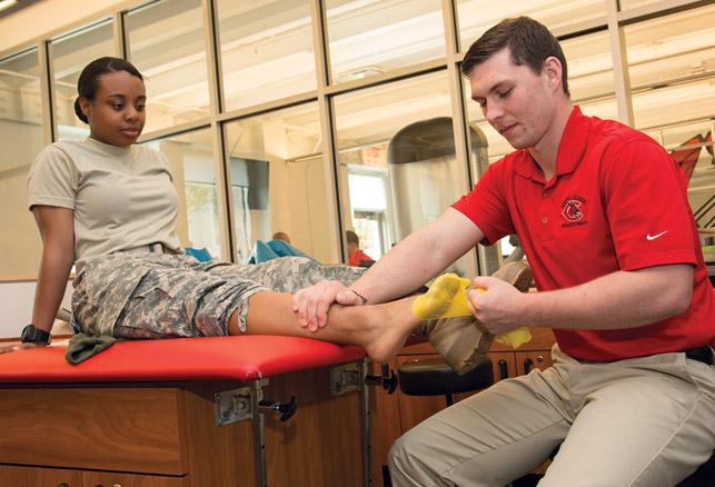 Central Missouri Proves Need for ROTC Athletic Trainers