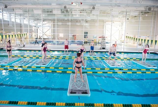 How to Maximize the Use of Aquatics Recreation Space