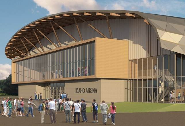 New Projects: Burlington Aquatic Center | University of Idaho Arena