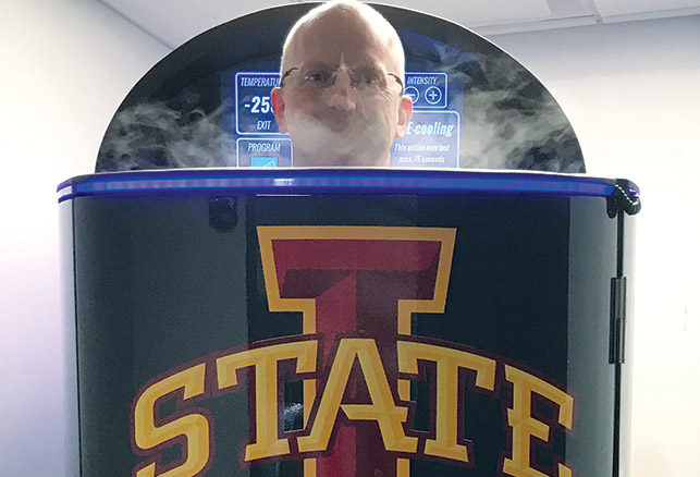 An Inside Look at Iowa State's Sports Medicine Dept.