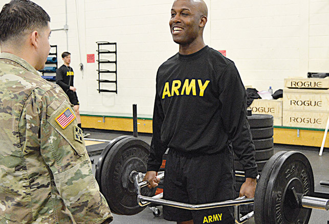 Military Debuts Army Combat Fitness Test