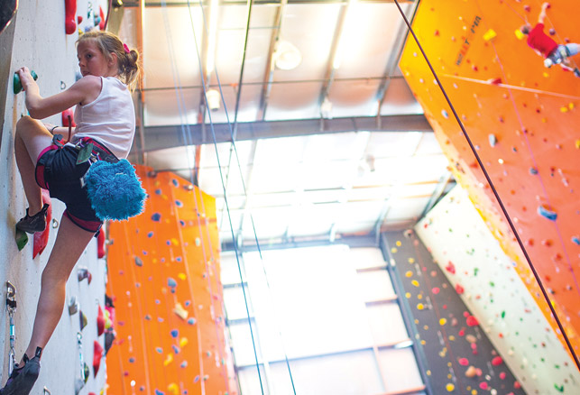 Climbing Gym Design Continues to Evolve