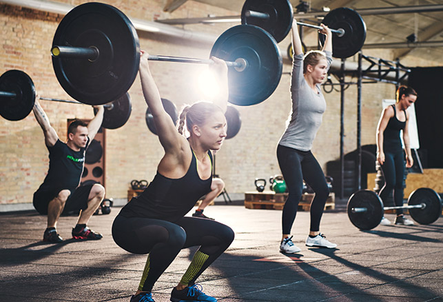 Why Gyms Are Offering Strength Training in a Group Setting