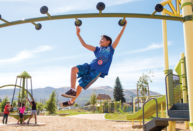 Activating Green Space for Outdoor Exercise and Well-Being
