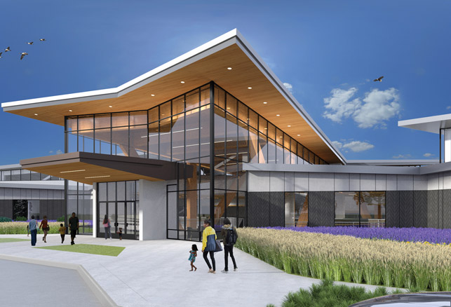New Projects: Forest County Potawatomi Community Center | UW Field House