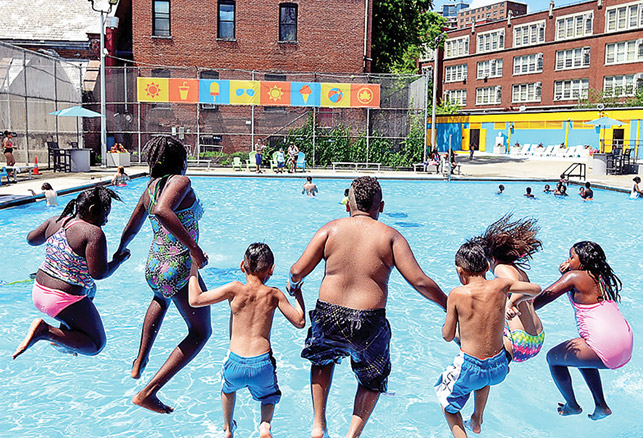 NYC's 'Cool Pools' Project Tackles 11 Pools in Two Years