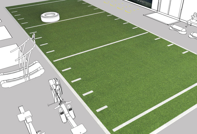 Four Considerations When Specifying Indoor Training Turf