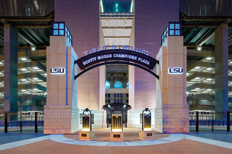 Tiger Stadium Plaza Renovation - Louisiana State University