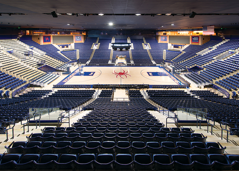 Robins Center Renovation - University of Richmond