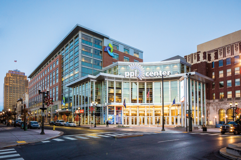 PPL Center and Lehigh Valley Health Network at One City Center