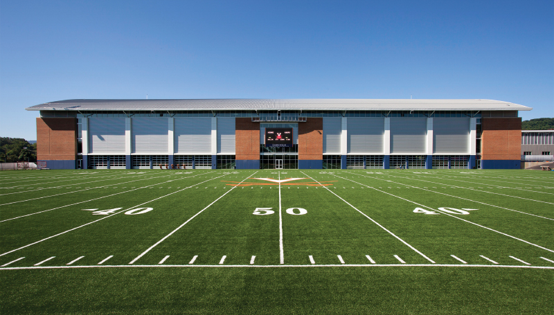 George Welsh Indoor Football Practice Facility, University of Virginia