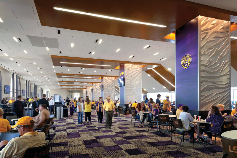 Tiger Stadium South End Zone Expansion, Louisiana State University