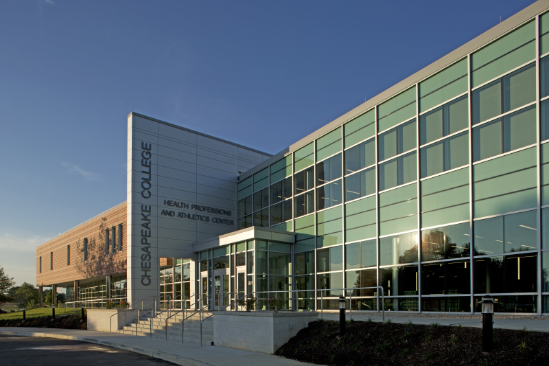 Chesapeake College Health Professions and Athletics Center Renovation and Addition