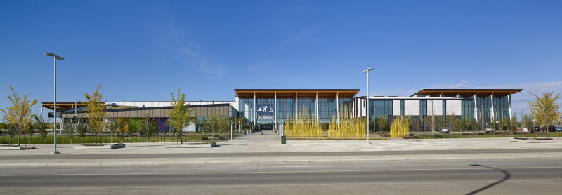 The Meadows Community Recreation Centre and Edmonton Library