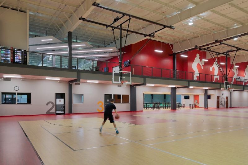 Blue Springs Fieldhouse Renovation