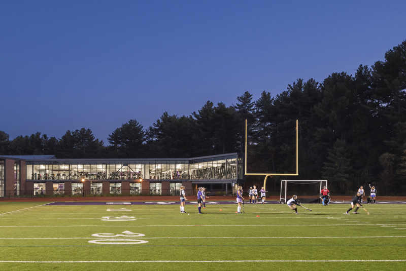 Sally Blair Ames Sports Complex Renovation and Addition – Stonehill College