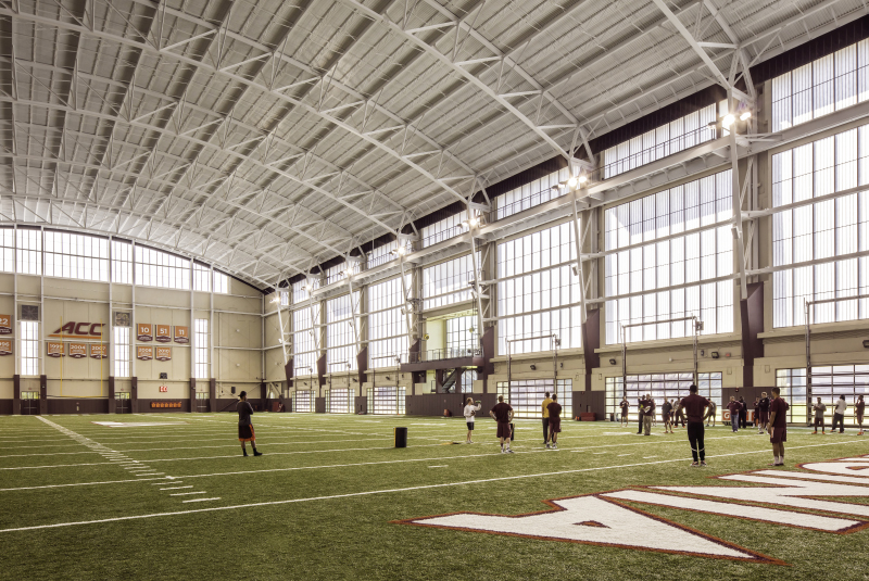Virginia Tech Indoor Athletic Training Facility – Virginia Polytechnic Institute and State University