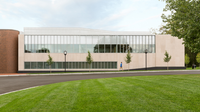 Elizabeth and Malcolm Chace Wellness and Athletic Center, Renovation and Addition, Bryant University