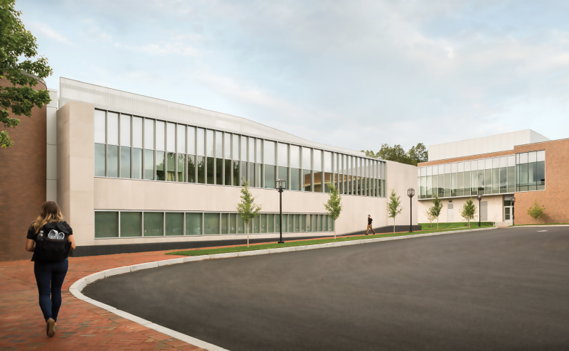 Bryant University Chace Center Addition