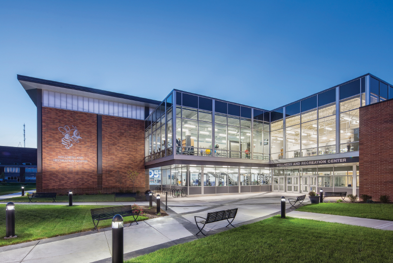 Wellness and Recreation Center, St. Ambrose University