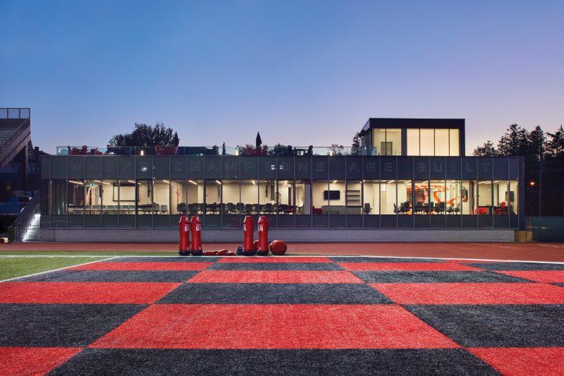 University of Guelph Alumni Stadium Football Pavilion