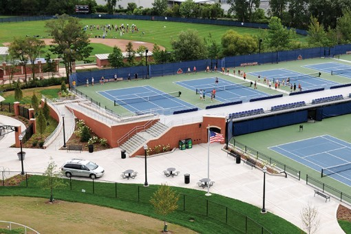 Vande Poel-Heeringa Stadium Courts - Hope College
