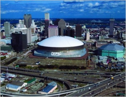 Louisiana Superdome Reconstruction
