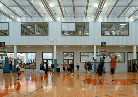 Carmelo K. Anthony Basketball Center Syracuse University