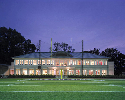 Fisher Field and Stadium Complex Renovation, Bourger Varsity Football House Lafayette College